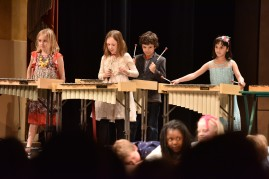 Spring Concert at Herbst Theater Synergy School on March 29, 2018.